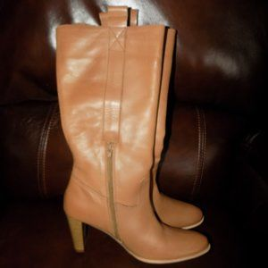 NEW SPIEGEL KNEE HIGH HEELED WOMEN'S BOOTS SIZE 10